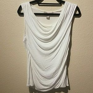 Forever 21 Sleeveless White Top Size Medium
